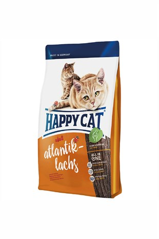 Happy Cat Atlantik-Lachs Somonlu Kedi Maması 10 Kg